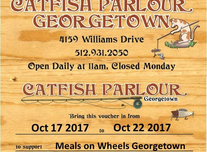 Fundraiser at Catfish Parlour