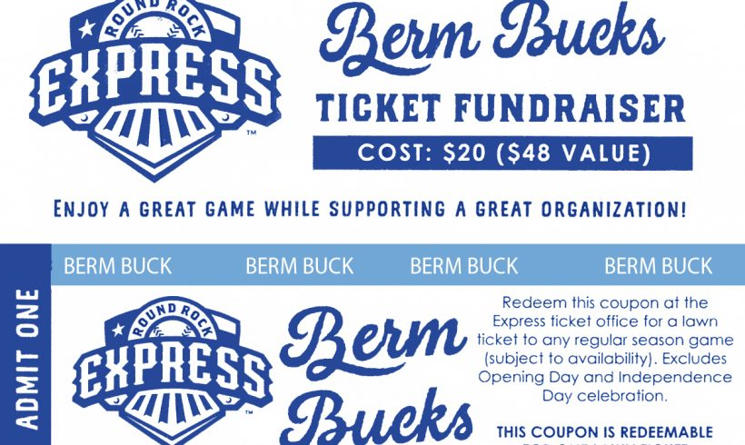 Baseball Berm Bucks Benefit