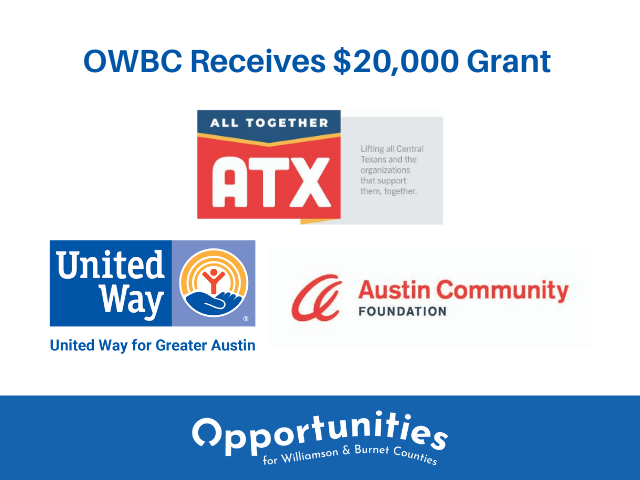 All Together ATX Grants OWBC $20,000