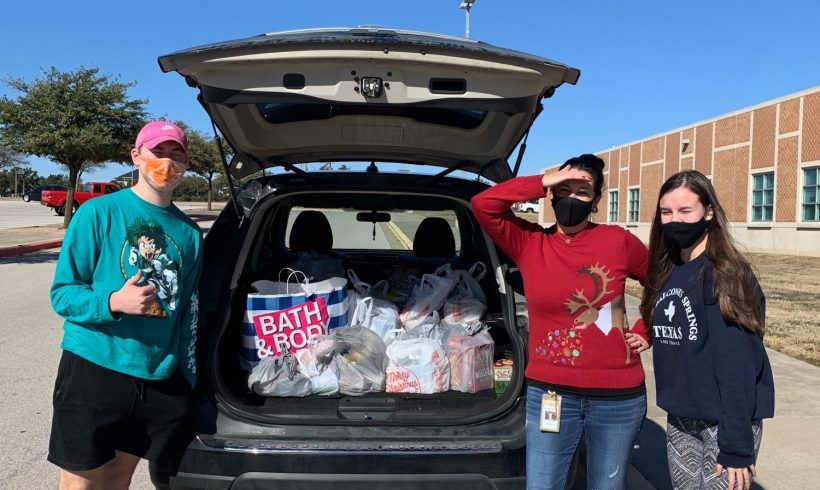 Rouse High School's PALS Program Continues to Provide Donations for OWBC Clients in Need