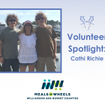 Volunteer Spotlight: Cathi Richie, Taylor Meals on Wheels