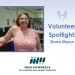 Volunteer Spotlight: Dona Mazur, Leander Meals on Wheels