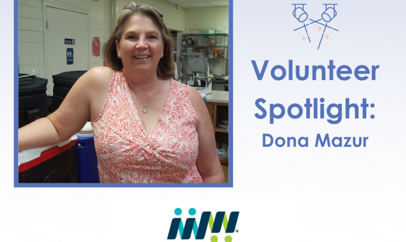 Volunteer Spotlight: Dona Mazur, Leander Meals on Wheels